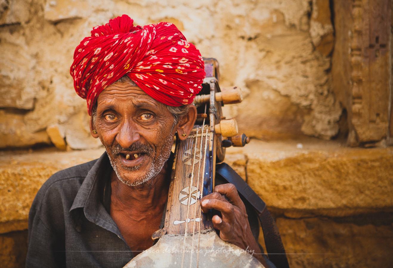 Sarodist In Jaisalmer